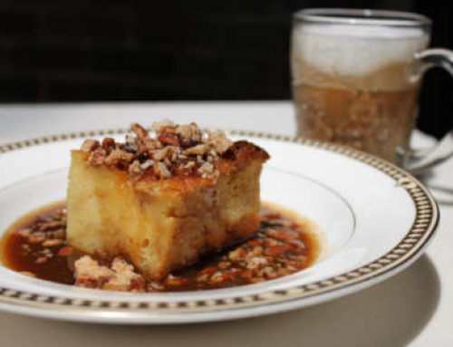 Pain Perdu Bread Pudding