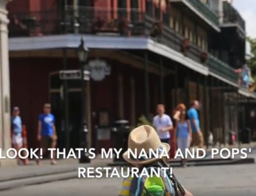 Little Boy Goes to NOLA