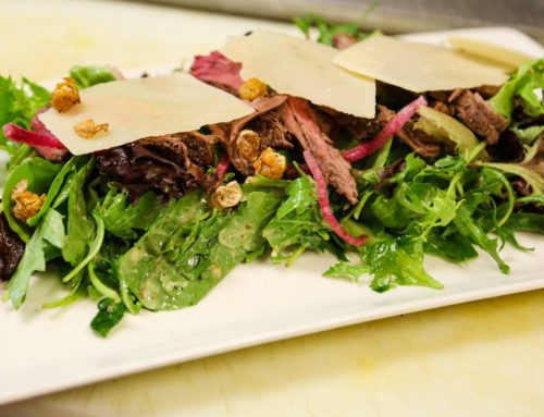 Wood Grilled Tenderloin Salad