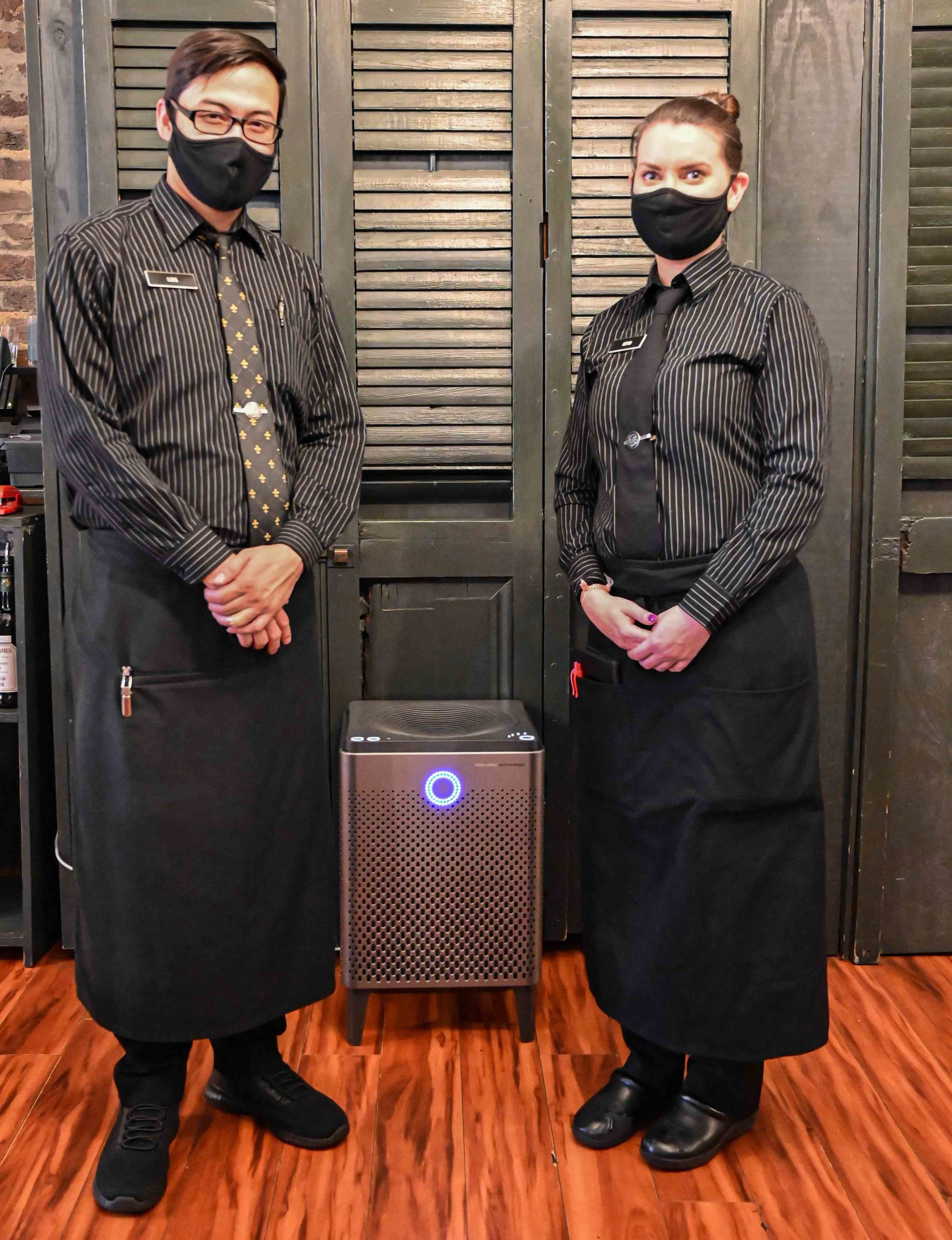 Servers and Air Purifier