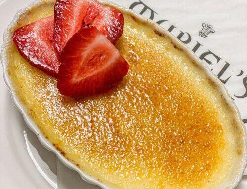 Vanilla Bean Crème Brulee